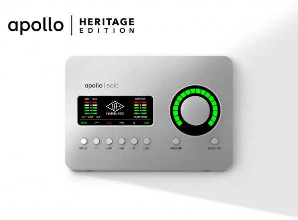 Universal Audio Apollo Solo Heritage Edition - TB3
